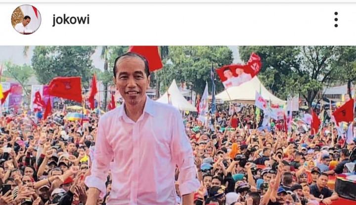 Jokowi Hujan-hujanan, Prabowo Sakit - Warta Ekonomi