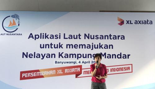 Foto Lewat Aplikasi Laut Nusantara XL Buat Nelayan Tak Cari Ikan, Tapi . . .