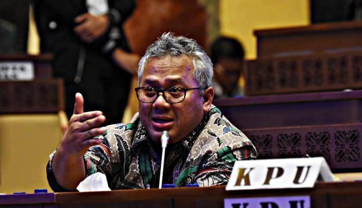 Ketua KPU Gak Terima Dibilang Sudah Tak Dipercaya Lagi oleh Masyarakat - Warta Ekonomi