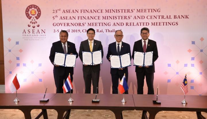 4 Bank Sentral Asean Dorong Penyelesaian LCS Framework - Warta Ekonomi