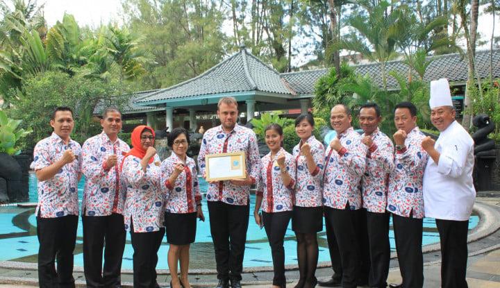 Melia Purosani Yogyakarta Sabet Sertifikasi EarthCheck Gold 2019 - Warta Ekonomi