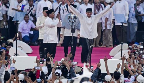 Foto Berkat Empat Tokoh Ini, Prabowo-Sandi Menang Pilpres