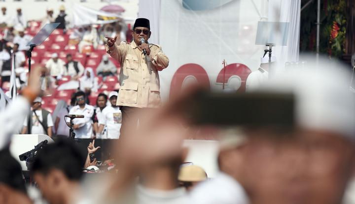 Survei PPPP Jokowi Kalah, BPN: Kami Berkali-kali Dibilang Kalah Enggak Marah
