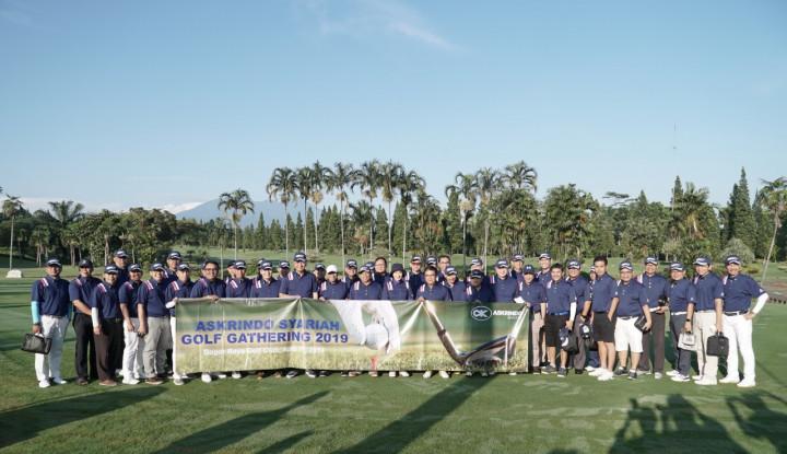 Gelar Golf Gathering, Cara Askrindo Syariah Jalin Silaturahmi dengan Mitra Bisnis - Warta Ekonomi