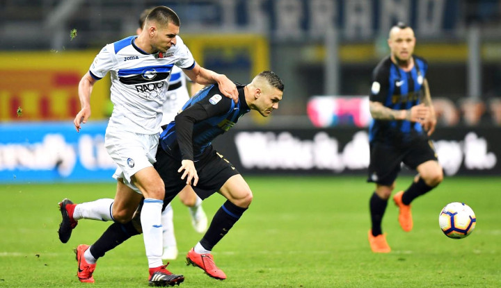 Icardi Comeback, Inter Milan Cuma Bisa Imbangi Atalanta 0-0 - Warta Ekonomi