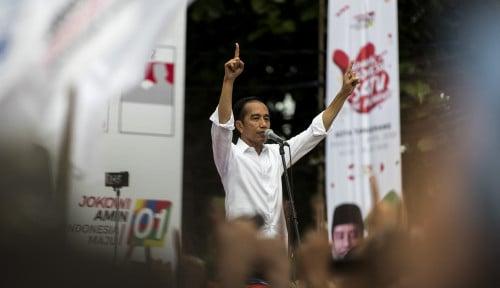 Foto Pamer Tol Bocimi, Jokowi Minta Suara Bogor Minimal 50 Persen