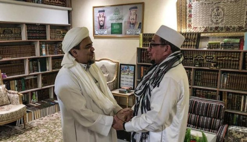 Ditantang Pulangkan Habib Rizieq, Cetus DS: Emang Gue Cowo Apaan!