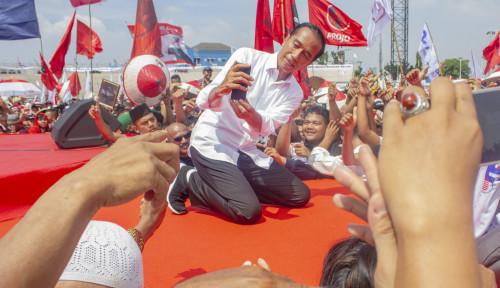 Foto Seruan Jokowi untuk Pemilu, Adem Banget Gaes...