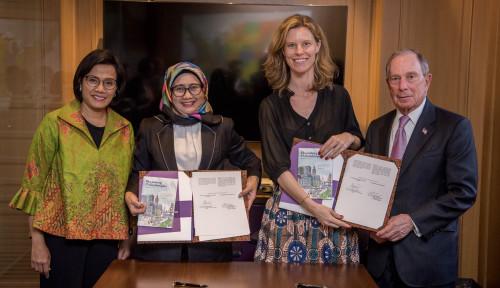 Foto SMI Jalin Kerja Sama dengan Bloomberg Philanthropies Terkait Penerapan SDGs