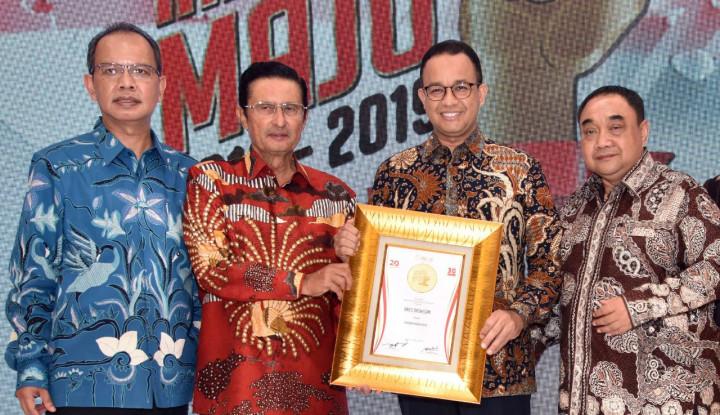 Anies Sabet Penghargaan Gubernur Merah Putih di Anugerah Indonesia Maju 2019 - Warta Ekonomi