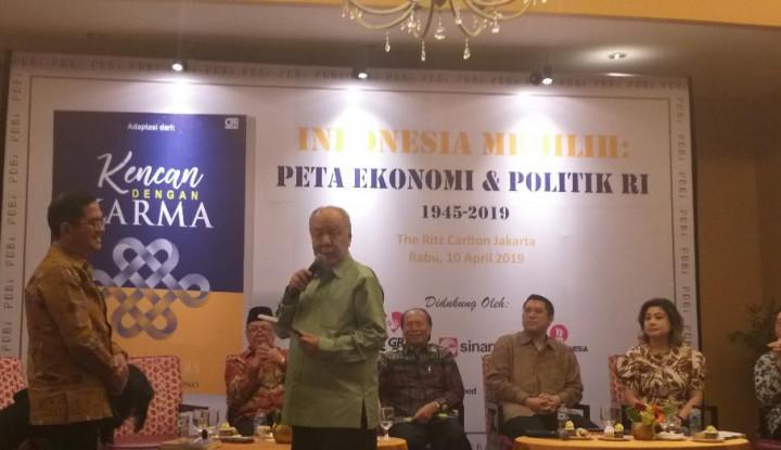 Dibanjiri Tokoh, Christianto Wibisono Luncurkan Buku - Warta Ekonomi