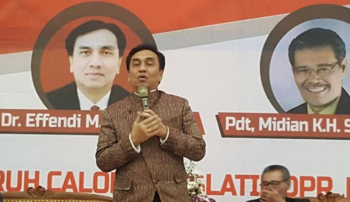 HKBP Jakarta Raya Doakan Effendi Simbolon Lolos ke Senayan - Warta Ekonomi