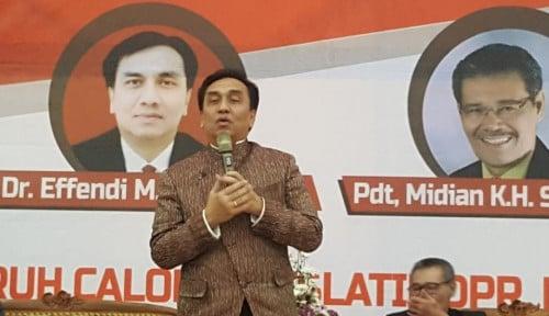 Foto Politikus PDIP Ini Keberatan Gerindra Gabung Koalisi Jokowi