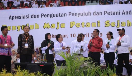 Foto Sektor Pertanian Maju, Mentan Apresiasi 12 Ribu Penyuluh dan Petani se-Indonesia