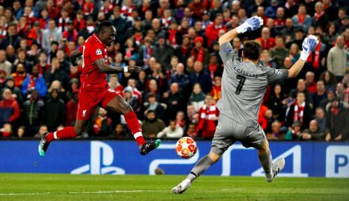 Foto Berkat Firmino, Liverpool Gondol Kemenangan di Liga Champions