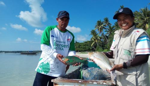 Foto Berikan Pembinaaan di 14 Desa, Astra Tingkatkan 48% Pendapatan Nelayan