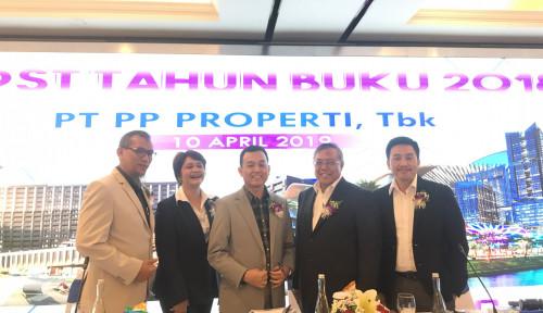 Foto PP Properti Ikhlaskan 20% Laba Bersih untuk Pemegang Saham