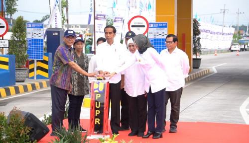 Foto Tol Paspro Diresmikan, Pasuruan-Probolinggo Kini Hanya 30 Menit
