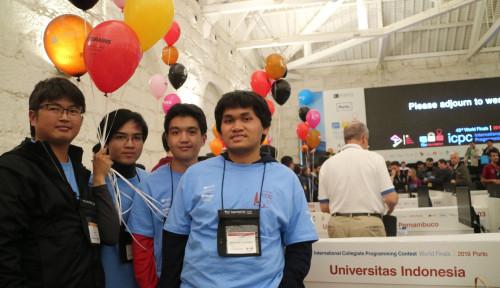 Foto UI, Harvard, dan Stanford Duduki Peringkat yang Sama dalam Kompetisi Internasional
