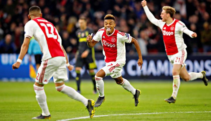 Ajax Imbangi Juventus di Laga Pertama Perempat Final Liga Champions - Warta Ekonomi