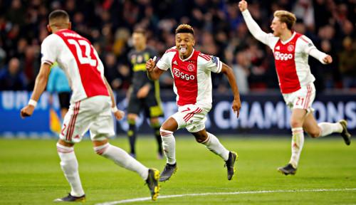 Foto Ajax Imbangi Juventus di Laga Pertama Perempat Final Liga Champions