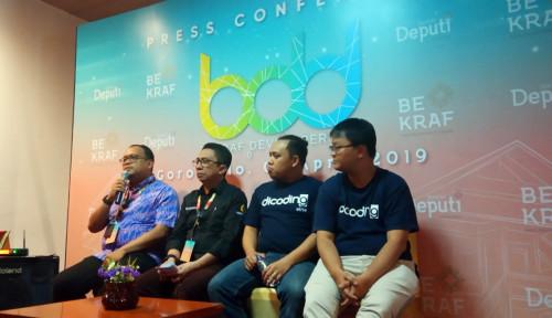Foto SEGO, Gim Lokal Andalan Gorontalo di Bekraf Developer Day 2019