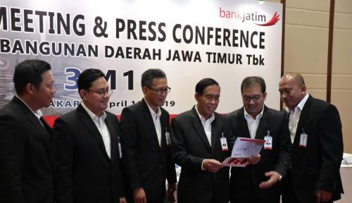 Penyaluran Kredit Bank Jatim Tembus Rp33,7 Triliun