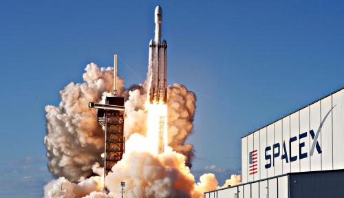 Foto Horang Kaya! 3 Pengusaha Ini Rela Rogoh Rp770 Miliar untuk ke Luar Angkasa Bareng SpaceX