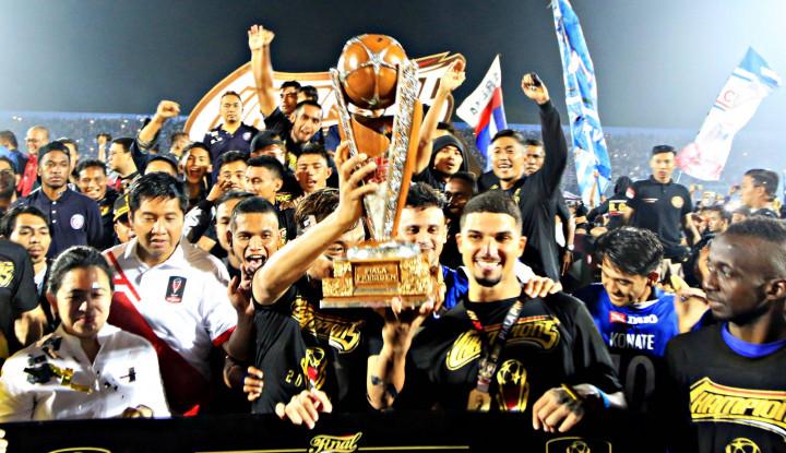 Kandaskan Persebaya, Arema FC Rebut Piala Presiden - Warta Ekonomi