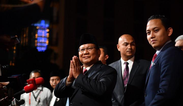 Prabowo: Saya Tidak Salahkan Pak Jokowi, Tapi. . . - Warta Ekonomi