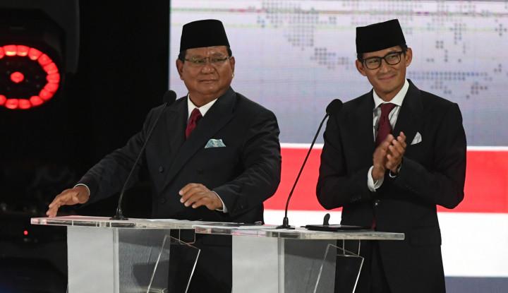 Ternyata Ini Kelemahan Prabowo dan Sandi, Tak Disangka - Warta Ekonomi