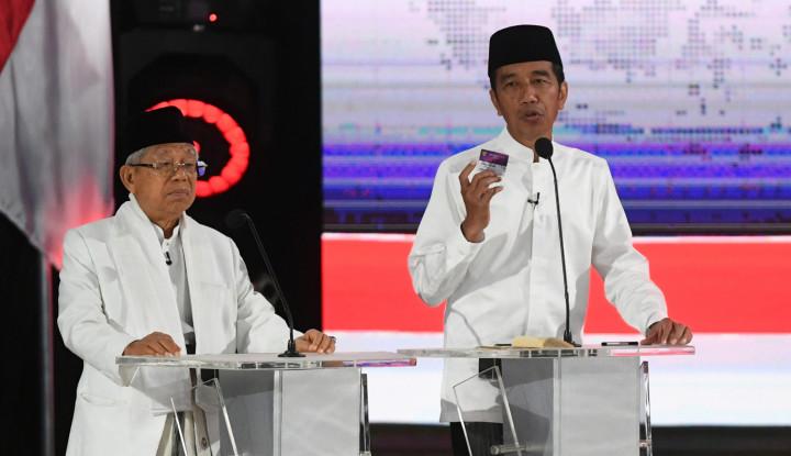 Besok Jokowi Nyoblos di Gambir, Kiai Ma'ruf di Jakut - Warta Ekonomi