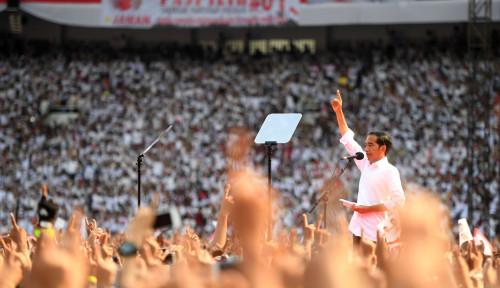Foto Galang Optimisme, Jokowi Yakin RI Jadi Negara Ekonomi Terkuat Ke-4 di Dunia