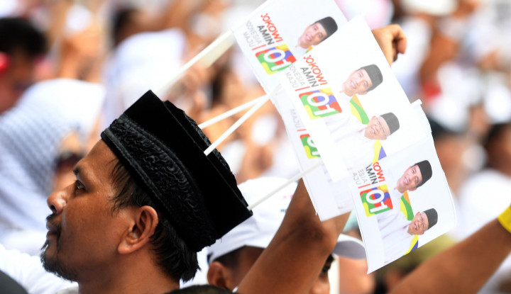 Sah! Bukan Cuma Jatim, Jokowi-Ma'ruf Juga Unggul di Kalteng - Warta Ekonomi