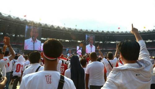 Foto Jokowi: Tak Ada Negara Maju yang Rakyatnya Pesimis!