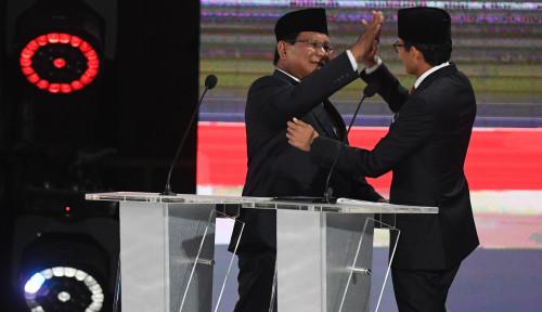 Foto Prabowo-Sandi Komitmen Tak Ambil Gaji Jika Terpilih, Sandiaga: Allah SWT Sudah Baik