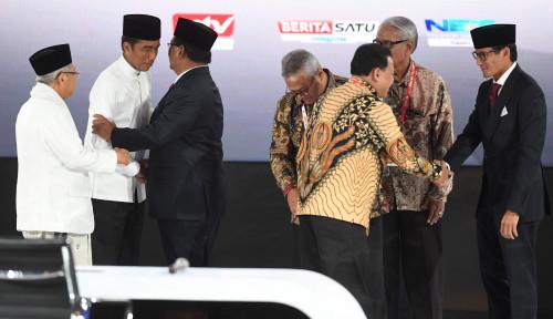 Foto Debat Pamungkas, Cara Pemilih Menentukan Pilihan