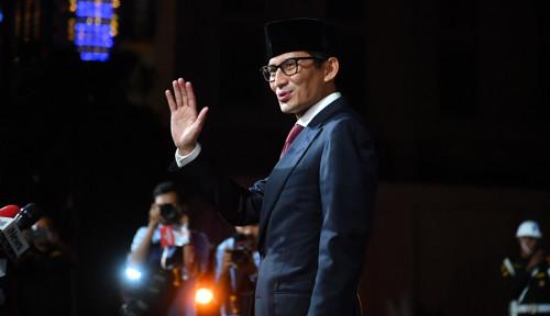 Foto Absen Lagi dalam Klaim Kemenangan Prabowo, Bang Sandi Cek Darah