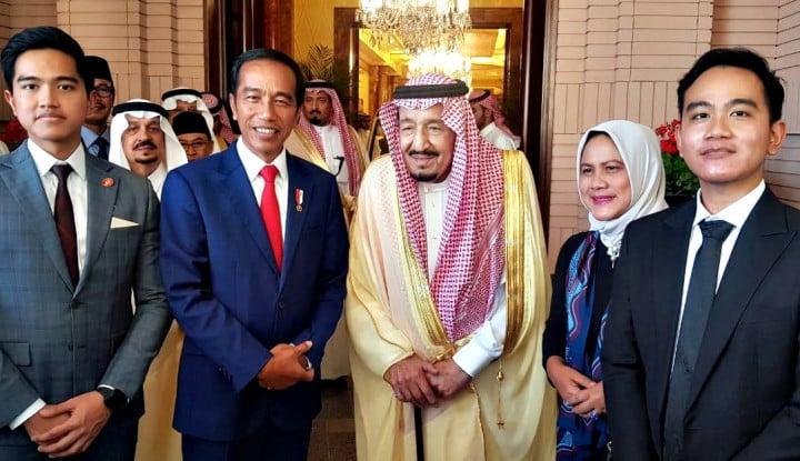 Jamu Jokowi, Raja Salman Sajikan Nasi Mandhi - Warta Ekonomi