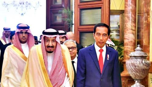 Lewat Telepon, Jokowi Selamati Raja Salman