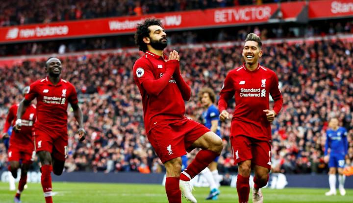 Liverpool Kalahkan Chelsea 2-0, Jaga Asa Juara EPL - Warta Ekonomi