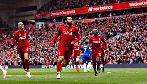 Foto Liverpool Perlu 12 Poin Lagi untuk Segel Juara Liga Inggris 2019-2020