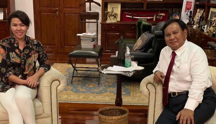 Adik Ahok Posting Foto Bersama Prabowo, Warganet Bereaksi - Warta Ekonomi