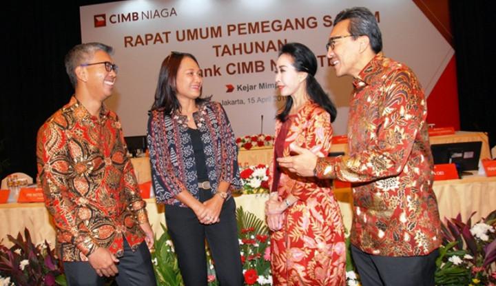 Laba Naik 16,9%, CIMB Niaga Bagi-bagi Hadiah ke Investor - Warta Ekonomi