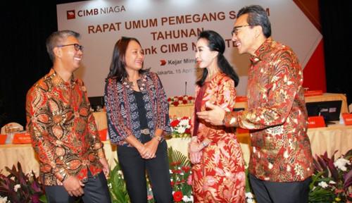 Foto Laba Naik 16,9%, CIMB Niaga Bagi-bagi Hadiah ke Investor