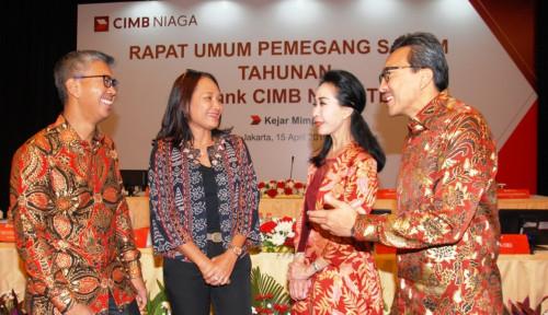 Foto Buyback Saham, CIMB Niaga Siapkan Rp25 Miliar