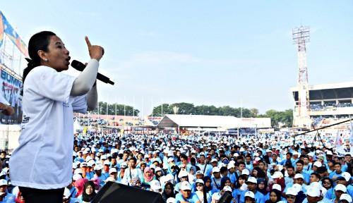 Foto Soal Holding Penerbangan, Menteri Rini Benchmarking ke...
