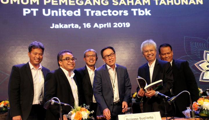 Laba United Tractors Berhasil Tumbuh 21% Dalam 3 Bulan