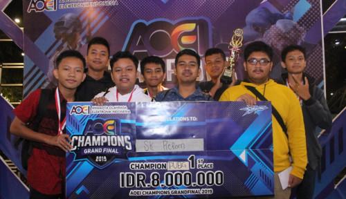 Foto 400 Tim Gamers Ikut pada Grand Final e-Sport di Medan