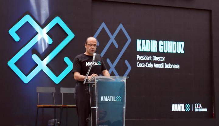 Bawa Amatil X ke Indonesia, CCA Mulai Buru Startup-startup Lokal - Warta Ekonomi